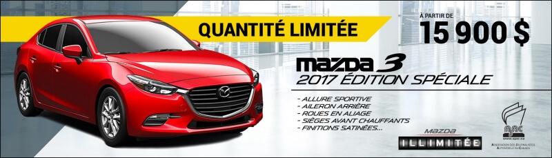 Mazda3 2017 Édition spéciale