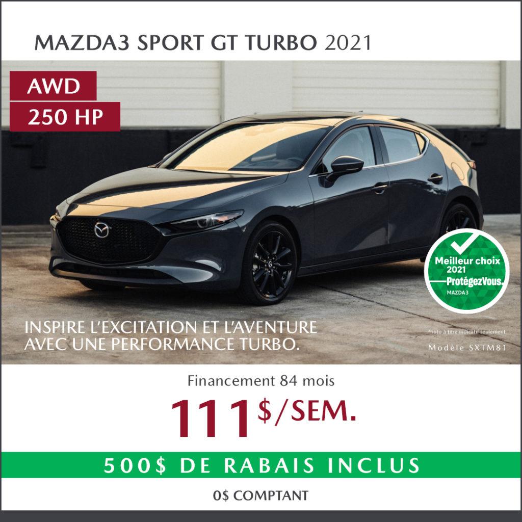 mazda3 Sport 2021