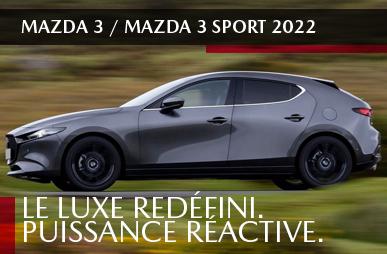 Mazda3 berline sport 2022